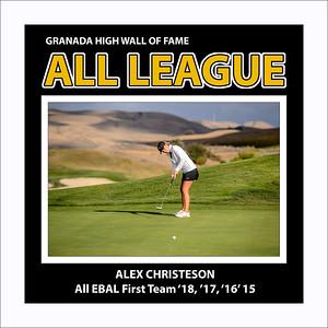 Christeson Alex GHS gGolf All League 2018