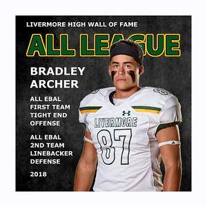 Archer Bradley 2018  LHS All League