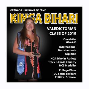 Bihari Kinga Valedictorian GHS 2019