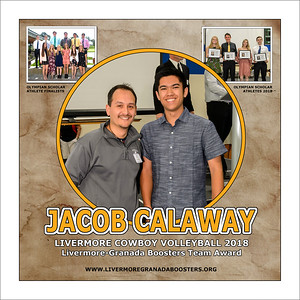Calaway Jacob Team Award 2018 (17 X 17)