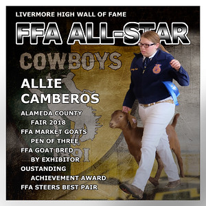Camberos Allie  LHS FFA All-Star 2018