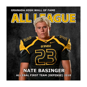 Basinger Nate GHS FB All 2018