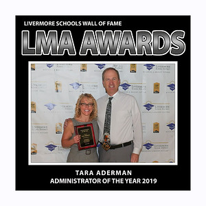 Aderman Tara LMA Adm of Yr 2019