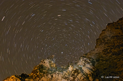 Nature Photographic Society (Singapore) - Photo of Month - June 2010  Star-trails at Parowan, Utah.