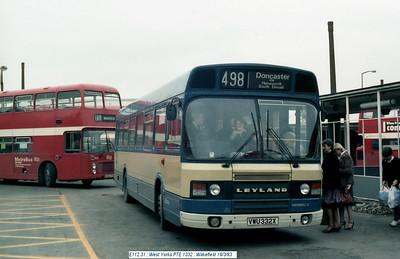 West Yorkshire PTE 1332 830319 Wakefield [jg]
