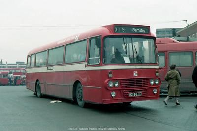 Yorkshire Traction 340 830212 Barnsley [jg]