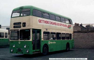 West Yorkshire PTE 4484 830319 Huddersfield [jg]