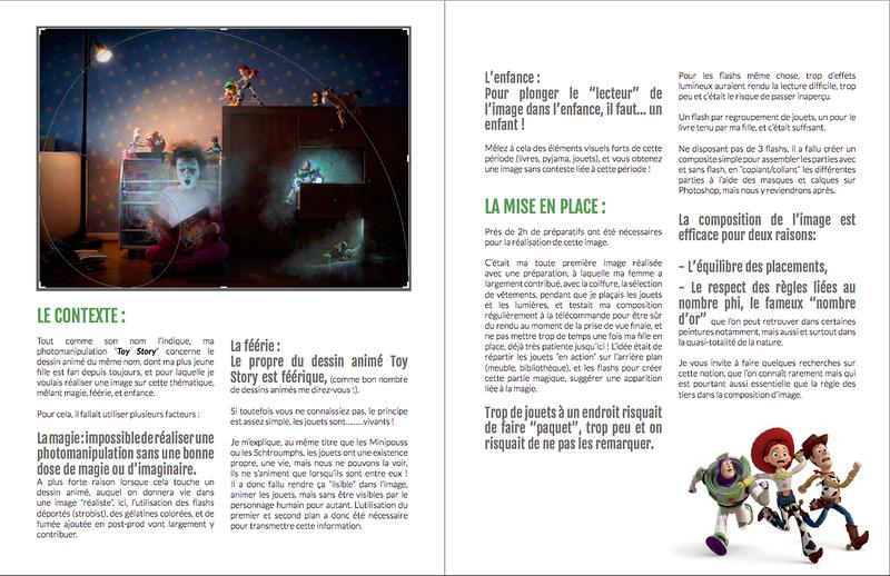 """Analyse de l'image """"Toy Story"""" pour le mensuel """"POP Magazine"""""""