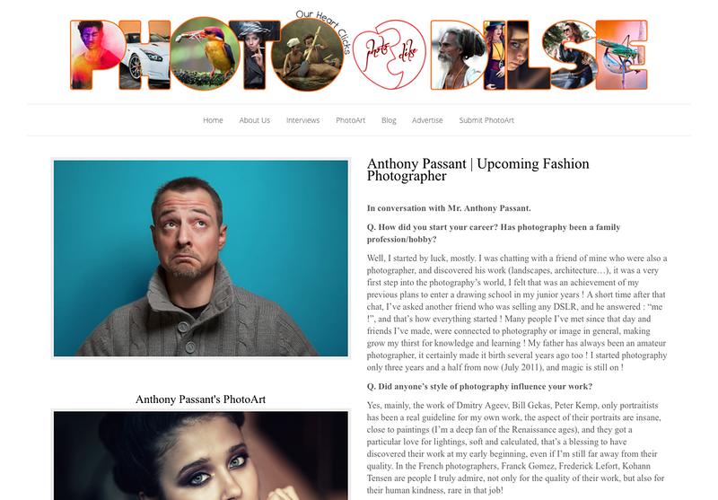 Interview pour le blog indien Photodilse