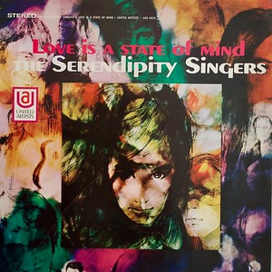 Love is a State of Mind,  The Serendipity Singers,  Album Cover Art by Irv Docktor