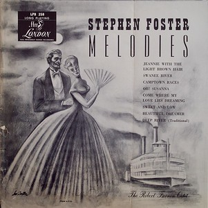 Stephen Foster Melodies,  Album Cover Illustration by Irv Docktor