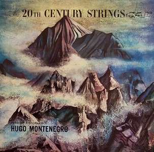 The 20th Century Strings by Hugo Mentenegro,  Album Cover Illustration by Irv Docktor