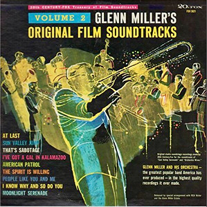 Original Film Soundtracks by Glenn Miller,  Record Cover Illustration by Irv Docktor