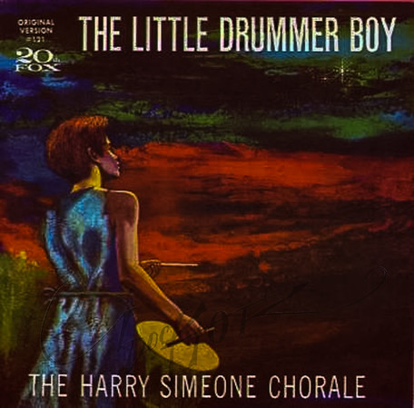 The Little Drummer Boy, cover art by Irv Docktor