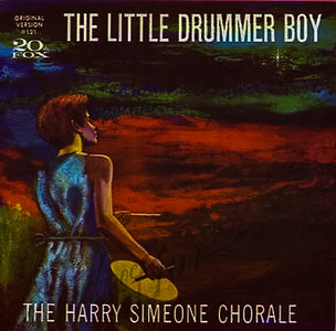 The Little Drummer Boy,  The Harry Simeone Chorale,  cover art by Irv Docktor