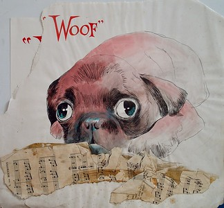Woof,  Illustration by Irv Docktor