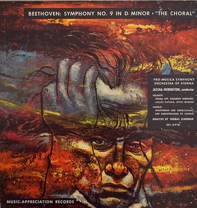 "Beethoven:  Symphony No. 9 in D Minor , ""The Choral""  Illustration by Irv Docktor"