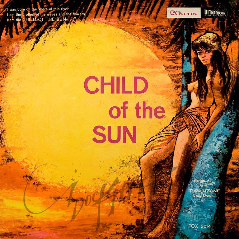Child of The Sun, album cover illustration by Irv Docktor