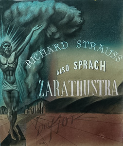Also Sprach Zarathustra by Richard Strauss,  illustration by Irv Docktor