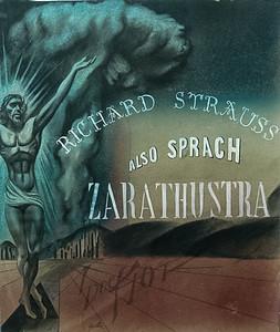 Also Sprach Zarathustra by Richard Strauss,  illustration by Irv Docktor