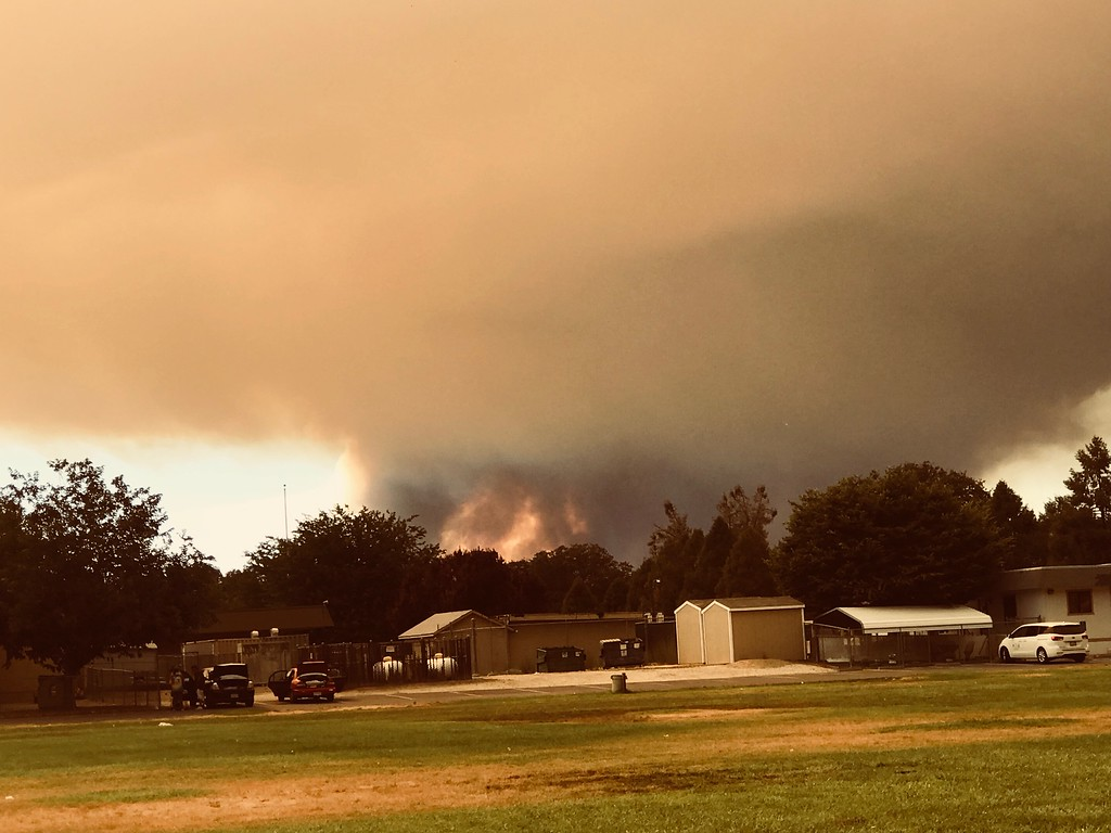 . photo courtesy Casse Waldman-Forczek View from Mt. Vista Middle School, Kelseyville