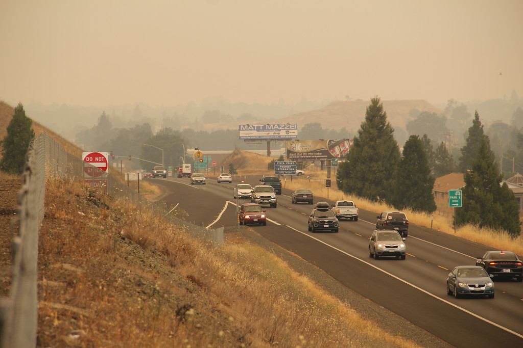. Bob Minenna for the Record-Bee Residents travel in and out of town, some mandatory evacuations were called for Saturday, July 28