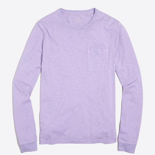 2017-04-06_J Crew_Factory_Light_Purple_Long-Sleeve_Sunwashed_Garment-Dyed_T-Shirt_15