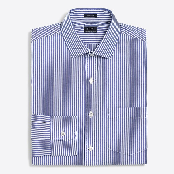 2017-04-15_J Crew_Blue_Striped_Flex_Wrinkle-Free_Voyager_Dress_Shirt_14