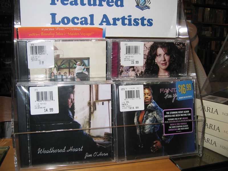 Featured at Barnes & Nobel! Hey that's Fantasia right under me!