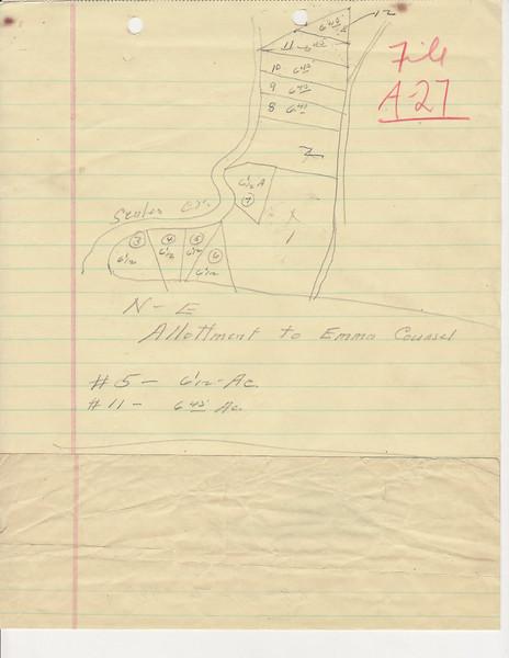 A-27 Heirs of C  Ward, Emma Summ0004