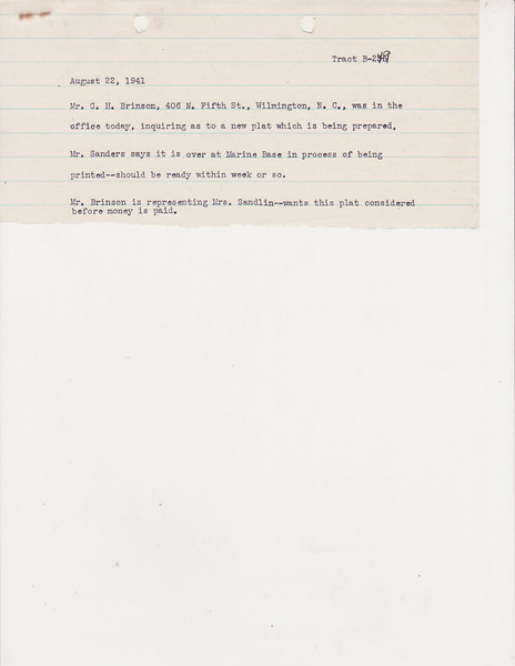 B-249 Nora M  Sandlin0015