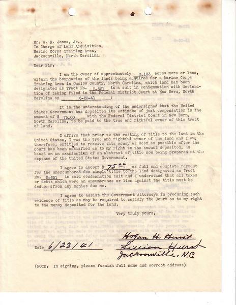 E651 Acceptance Letter