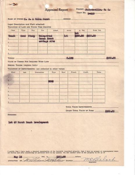 E659 Appraisal Report