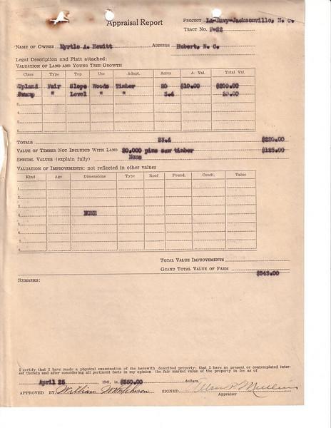 F22 Appraisal