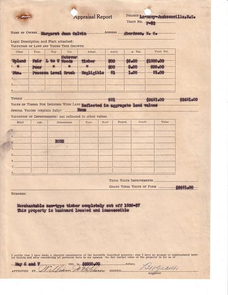 F32 Appraisal