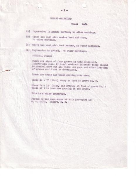 F34 Howard Cem Page 1