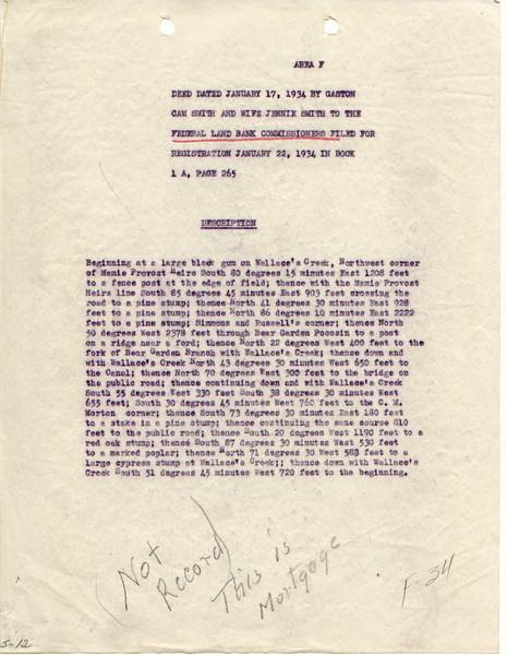 F34 Mortgage document