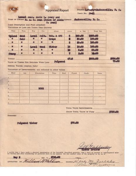 F41 Appraisal