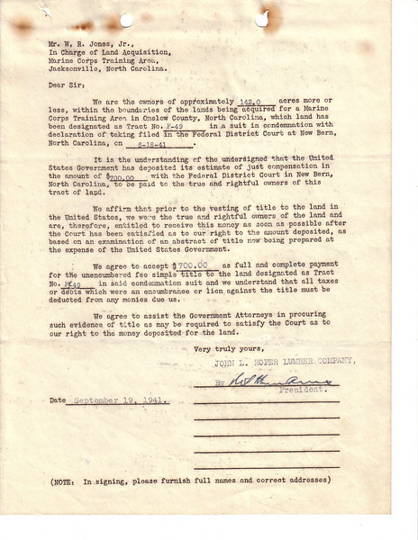 F49 Sales Agreement