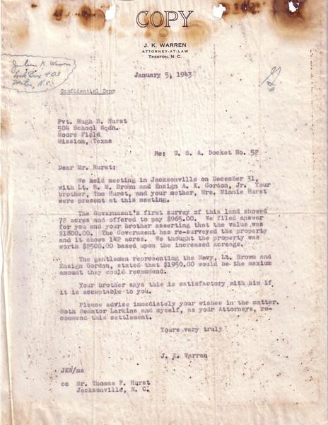 G29 Letter 1