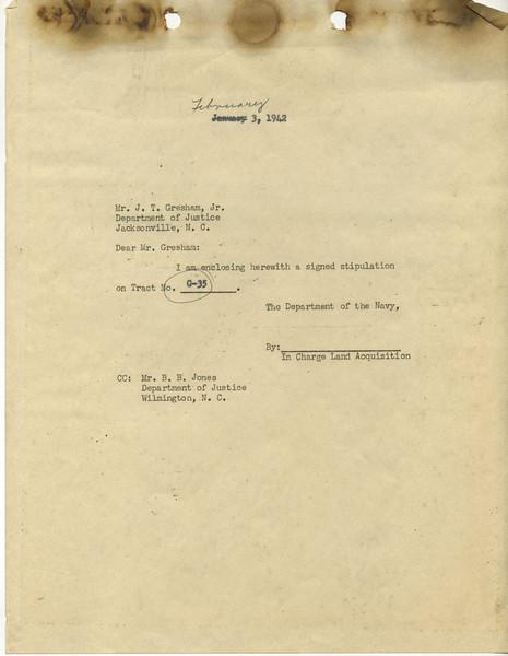G35 Letter 9