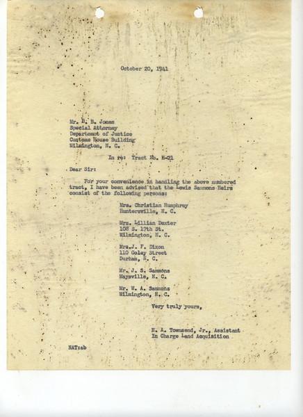 H21 Letter 6