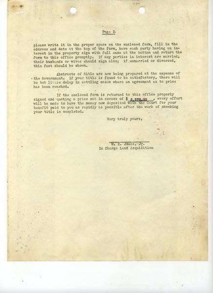 J52 Letter 6 page 2