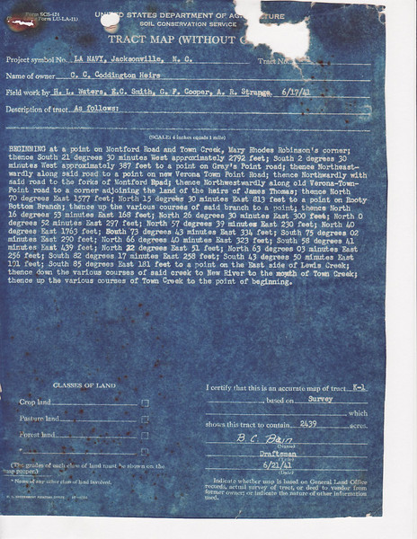 K 1 CC Cottington heirs deed
