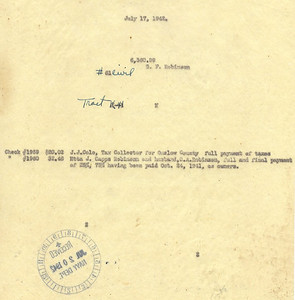 K-41 Etta J. Capps Robinson