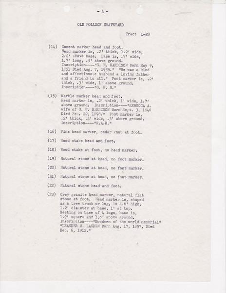 L20 Old Pollock Grave yard list0003