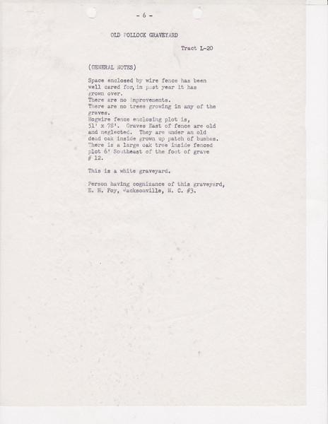 L20 Old Pollock Grave yard list0005