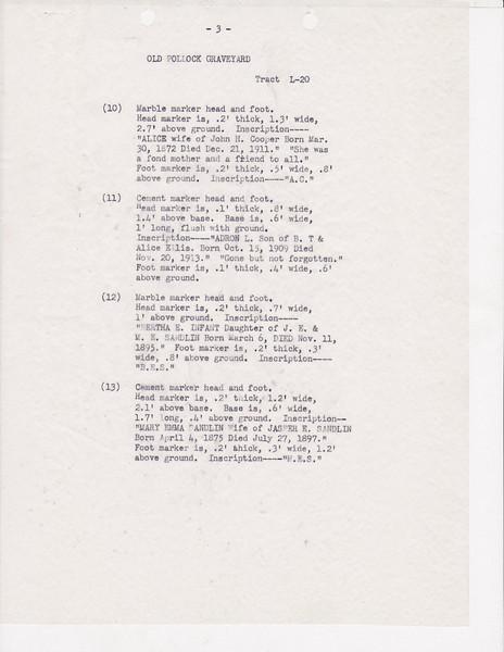 L20 Old Pollock Grave yard list0002