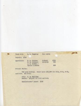 M-14 W.B. Humphrey