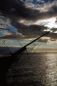 Sailboat Off Wailea